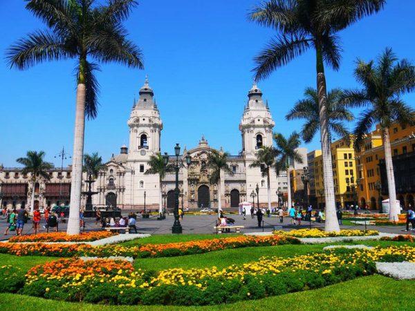 Лима - централния площад