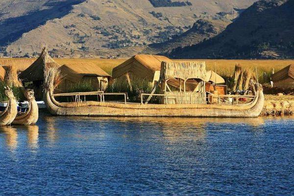 Пуно - езерото Титикака